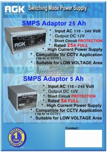 SMPS Adaptor central(AGK)
